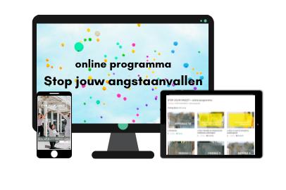 online programma Stop jouw angstaanvallen